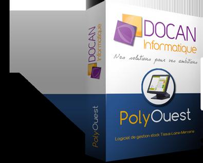 PolyOuest - Logiciel de gestion de stock tissus, laine, mercerie